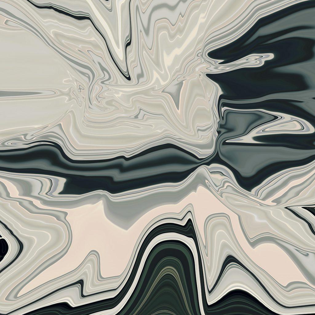 ABSTRACT_PORTRAITS_GRAY_FLUID_XIII_60x60