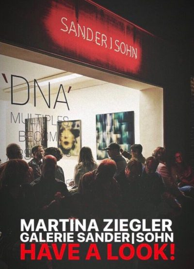 Verlängert bis 17.11.19!  DNA. Multiples become Abstracts.  Parallel zur Photopopupfair. Galerie SANDER I SOHN, Fürstenwall 86, Düsseldorf.